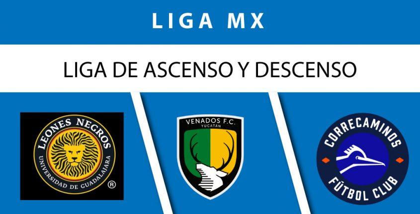 liga de ascenso y descenso mx