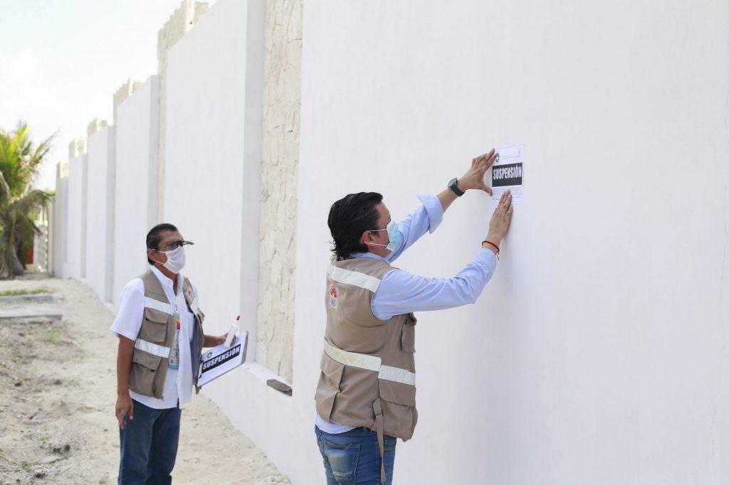 Construcción del Solaris se suspende en Cancún