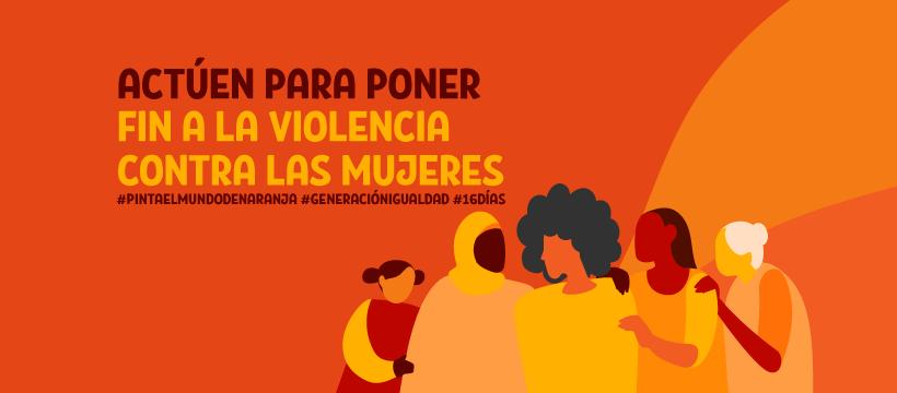 campaña de eliminación de la violencia contra a las mujeres