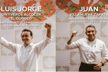 Precandidatos Movimiento Ciudadano Valladolid Yucatan