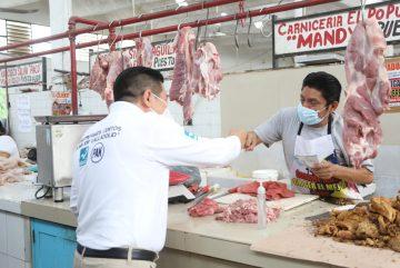 Locatario del mercado de Valladolid