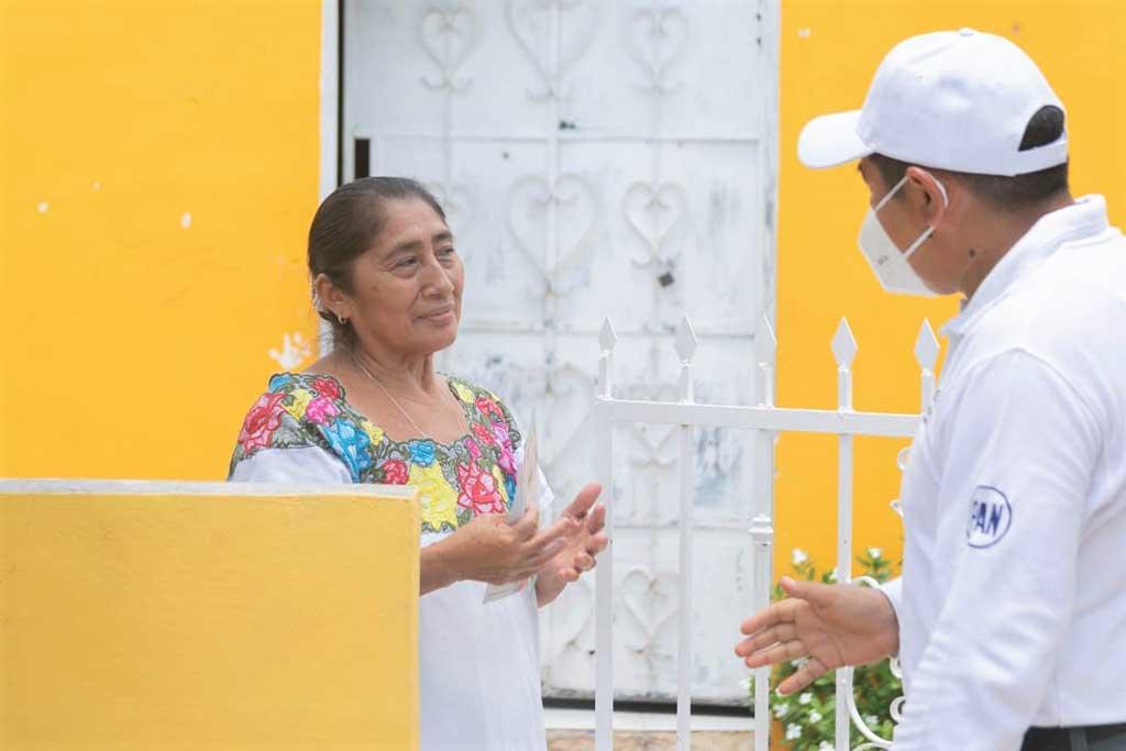 Visita colonias Alfredo Fernández