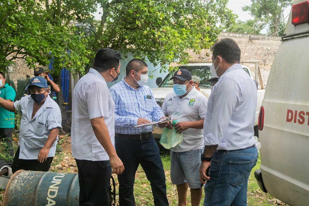 visita comisaria de Yalcobá