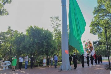 Izamiento de bandera