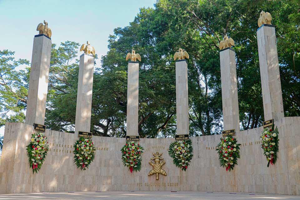 Niños héroes 174 aniversario